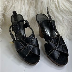 Coach  Leather Halina Sandal Made in Italy